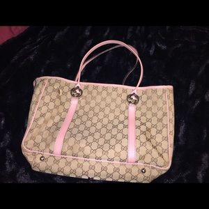 Gucci gg twins tote bag Authentic
